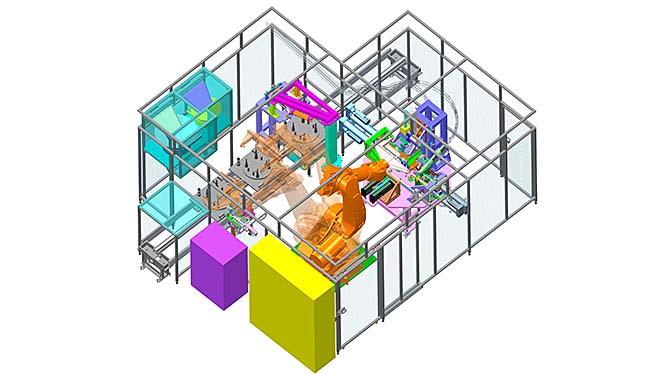TIPA Kft. A Creo nagy hatékonysággal kezeli a nagy összeállításokat, ami alapvető fontosságú az egyedi géptervezők számára.