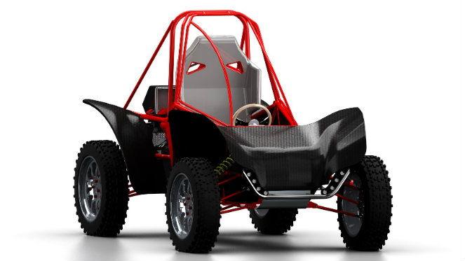 3. helyezett: Tóth Balázs – BME. Hobby és sport célokra egyaránt alkalmas cross autó